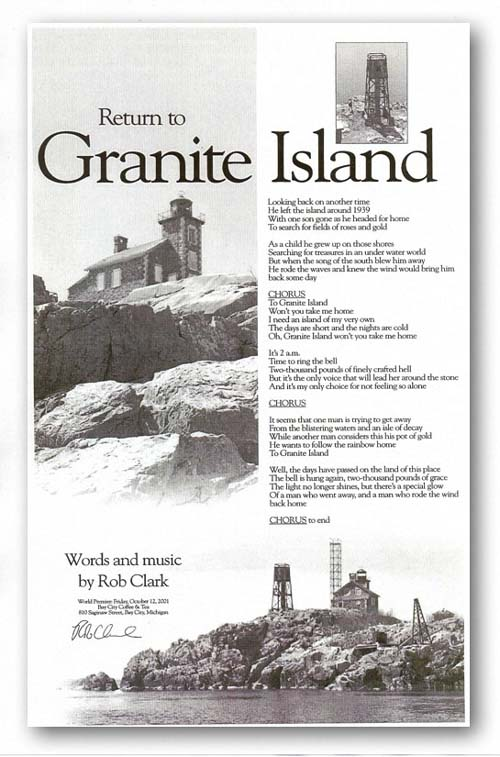 Return to Granite Island poster